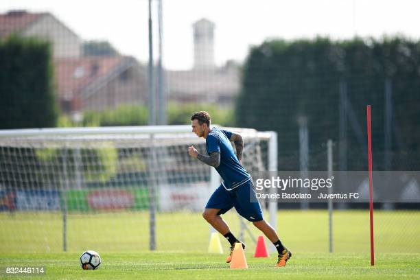 Federico Bernardeschi during the morning training session at Juventus Center Vinovo on August 16 2017 in Vinovo Italy