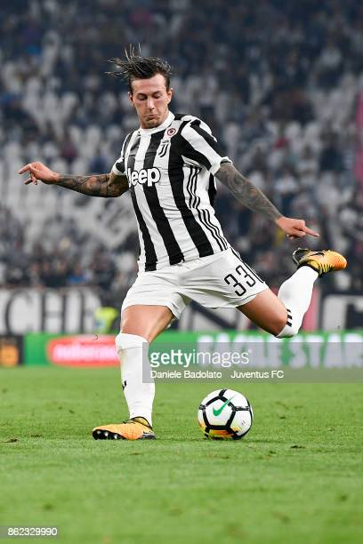 Federico Bernardeschi during the Serie A match between Juventus and SS Lazio on October 14 2017 in Turin Italy
