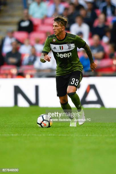 Federico Bernardeschi during the Tottenham Hotspur v Juventus PreSeason Friendly match at Wembley Stadium on August 5 2017 in London England