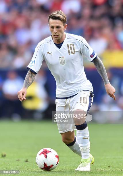 Federico Bernardeschi during the UEFA European Under21 match between Czech Republic and Italy on June 21 2017 in Tychy Poland