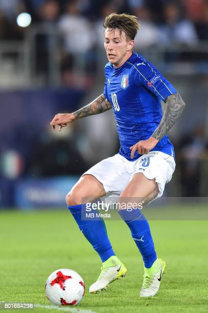 Federico Bernardeschi during the UEFA European Under21 match between Italy and Germany on June 24 2017 in Krakow Poland