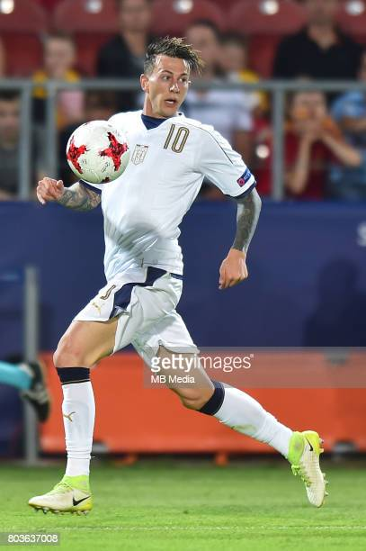 Federico Bernardeschi during the UEFA European Under21 match between Spain and Italy on June 27 2017 in Krakow Poland
