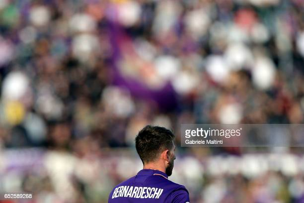 Federico Bernardeschi of ACF Fiorentina during the Serie A match between ACF Fiorentina and Cagliari Calcio at Stadio Artemio Franchi on March 12...