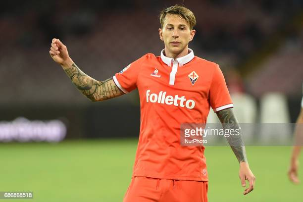 Federico Bernardeschi of ACF Fiorentina during the Serie A TIM match between SSC Napoli and ACF Fiorentina at Stadio San Paolo Naples Italy on 20 May...