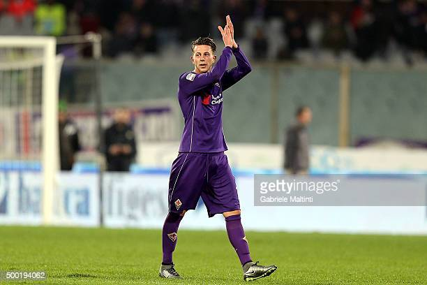 Federico Bernardeschi of ACF Fiorentina reacts during the Serie A match between ACF Fiorentina and Udinese Calcio at Stadio Artemio Franchi on...