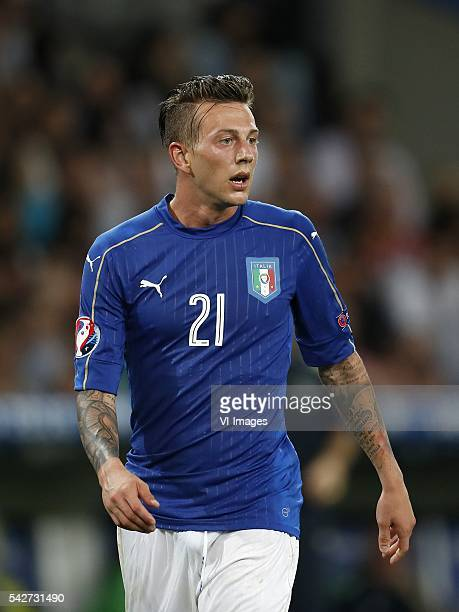 Federico Bernardeschi of Italy during the UEFA EURO 2016 Group E group stage match between Italy v Ireland at the Stade PierreMauroy on june 22 2016...