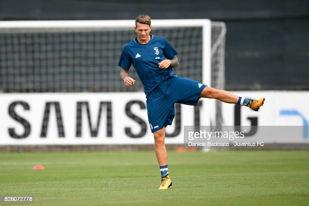 Federico Bernardeschi of Juventus during a training session on August 3 2017 in Vinovo Italy