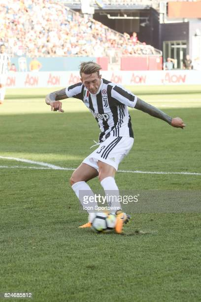 Federico Bernardeschi of Juventus during the International Champions Cup match between Juventus and AS Roma on July 30 2017 at Gillette Stadium in...