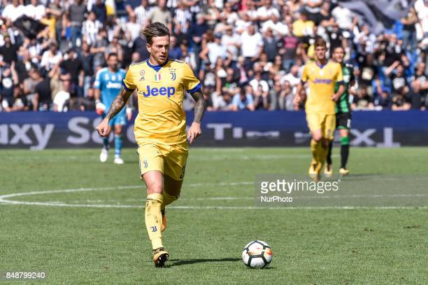 Federico Bernardeschi of Juventus during the Serie A match between Sassuolo and Juventus at Mapei Stadium Reggio Emilia Italy on 17 September 2017