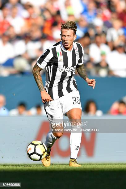 Federico Bernardeschi of Juventus in action during the International Champions Cup 2017 match between AS Roma and Juventus at Gillette Stadium on...