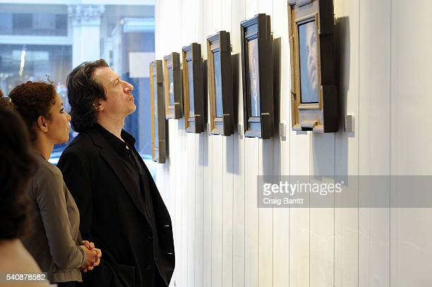 Federico Castelluccio attends the Tim Cantor art show at AFA Gallery on June 16 2016 in New York City