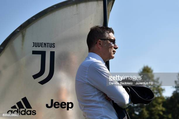 Federico Cherubini during the preseason friendly match between Juventus A and Juventus B on August 17 2017 in Villar Perosa Italy
