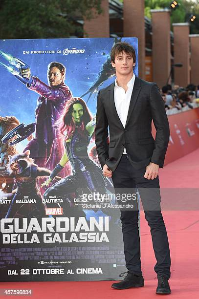 Federico Costantini attends the 'Guardians of the Galaxy' Red Carpet during the 9th Rome Film Festival on October 21 2014 in Rome Italy