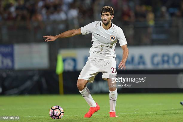 Federico Fazio of AS Roma in action during the preseason friedly match between Latina and AS Roma at on August 10 2016 in Latina Italy