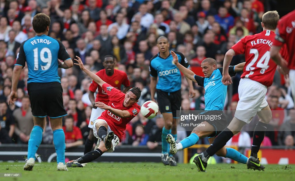 Manchester United v Aston Villa : News Photo