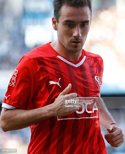 Federico Mancuello of Independiente looks down during a match between Racing Club and Independiente as part of 13th round of Torneo Primera Division...