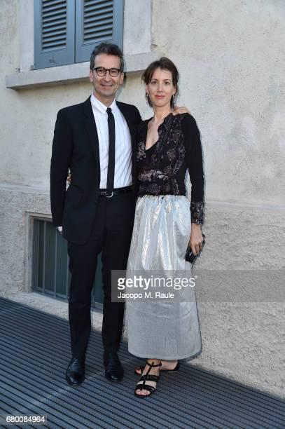 Federico Marchetti and guest attends a 'Private view of 'TV 70 Francesco Vezzoli Guarda La Rai' at Fondazione Prada on May 7 2017 in Milan Italy