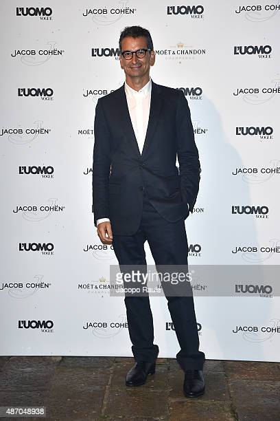Federico Marchetti attends the 'Being The Protagonist' Party hosted By L'Uomo Vogue during the 72nd Venice Film Festival at San Clemente Palace Hotel...