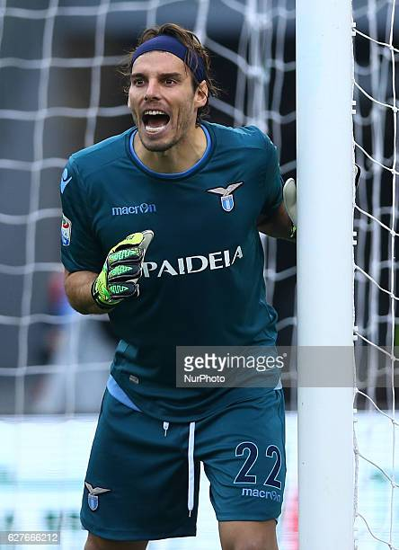 Federico Marchetti of SS Lazio during the Italian Serie A football match between SS Lazio and AS Roma at the Olympic Stadium in Rome on december 04...