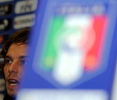 Federico Marchettii of Italy speaks during a press conference at Casa Azzurri during the 2010 FIFA World Cup on June 17 2010 in Centurion South Africa