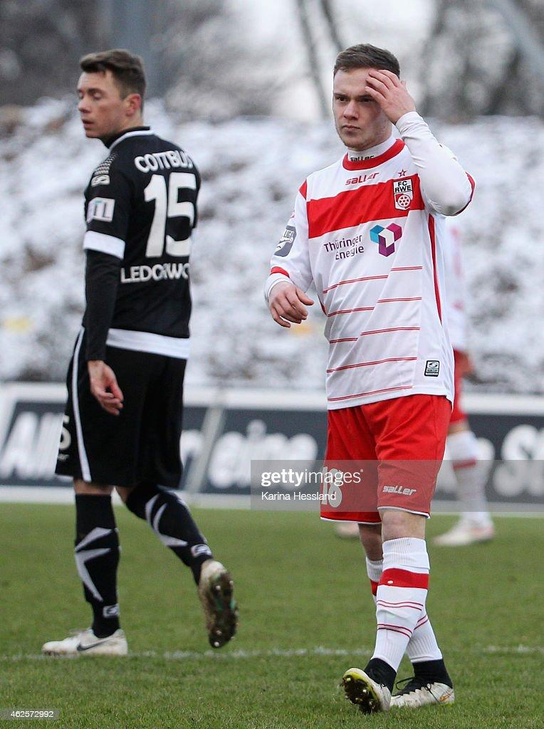 Rot-Weiss Erfurt v Energie Cottbus  - 3. Liga