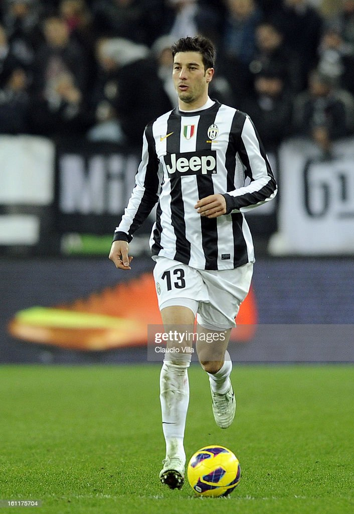 Federico Peluso of Juventus FC in action during the Serie A match between Juventus FC and ACF Fiorentina at Juventus Arena on February 9, 2013 in Turin, Italy.