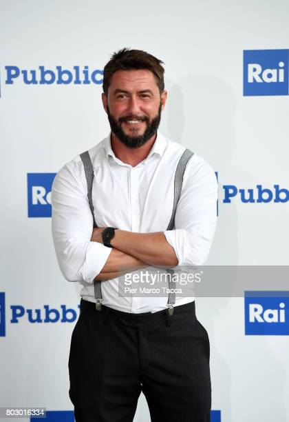 Federico Ruffo attends the Rai show schedule presentation at Statale University of Milan on June 28 2017 in Milan Italy