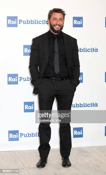 Federico Ruffo attends the Rai Show Schedule Presentation In Rome on July 4 2017 in Rome Italy