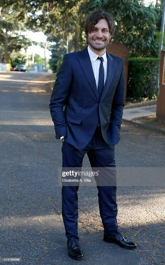 Federico Russo attends PREMIO TV 2015 Awards at RAI Dear Studios on May 25 2015 in Rome Italy