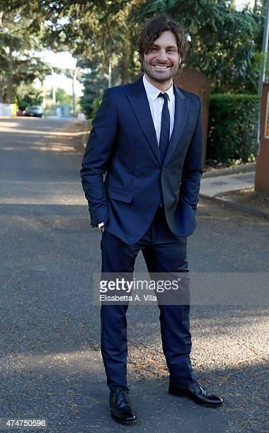 Federico Russo attends PREMIO TV 2015 Awards at RAI Dear Studios on May 25 2015 in Rome Italy
