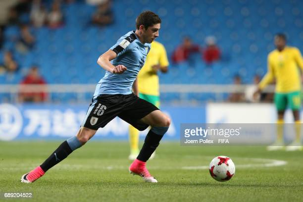 Federico Valverde of Uruguay during the FIFA U20 World Cup Korea Republic 2017 group D match between Uruguay and South Africa at Incheon Munhak...