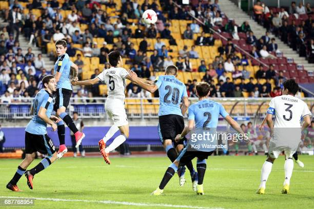 Federico Valverde of Uruguay in action during the FIFA U20 World Cup Korea Republic 2017 group D match between Uruguay and Japan at Suwon World Cup...
