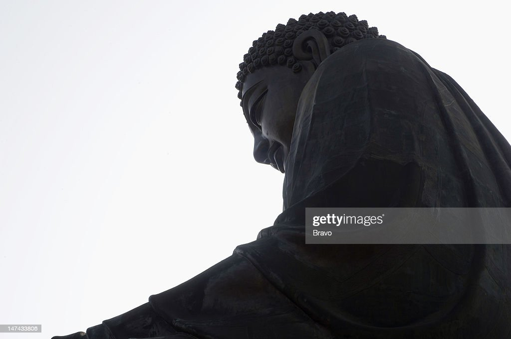 PLATES -- 'Feeding the Demon' Episode 108 -- Pictured: Tian Tan Buddha (Big Buddha) at Ngong Ping on Lantau Island in Hong Kong, China in 2011 --