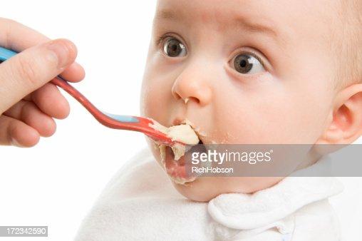 Feeding Time : Stock Photo
