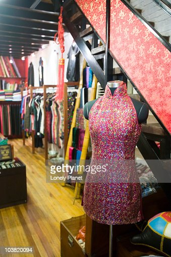 'Feel Shanghai' fashion boutique, Taikang Road Art Centre, French Concession. : Foto de stock