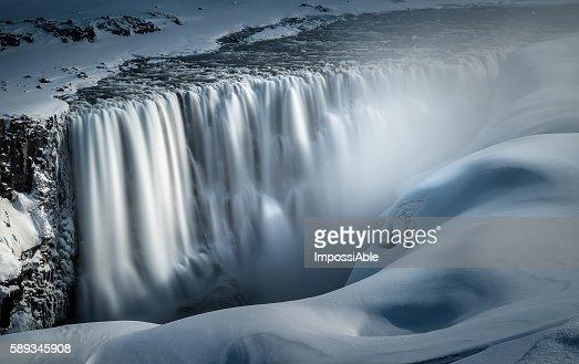 feel the force (dettifoss waterfall)