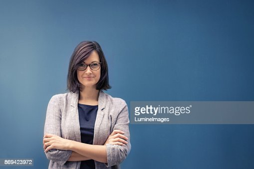 Feeling confident in herself. : Stock Photo