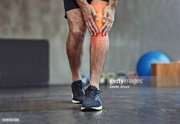 Feeling it in the knee