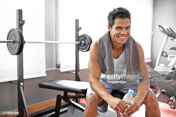 Feeling rejuvenated after that workout