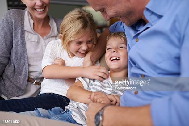 Fühlen Sie sich so lieben seiner Familie!