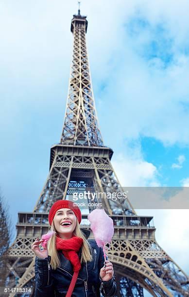 feeling the joy of being in Paris