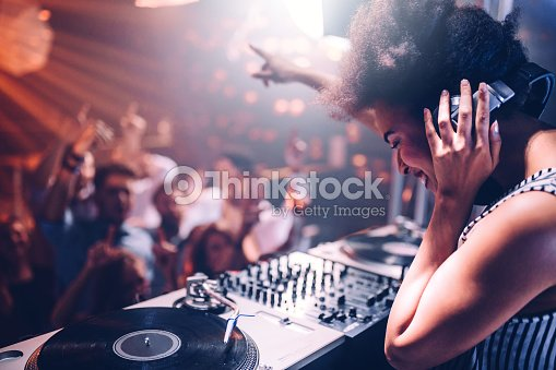Feeling the music : Stock Photo