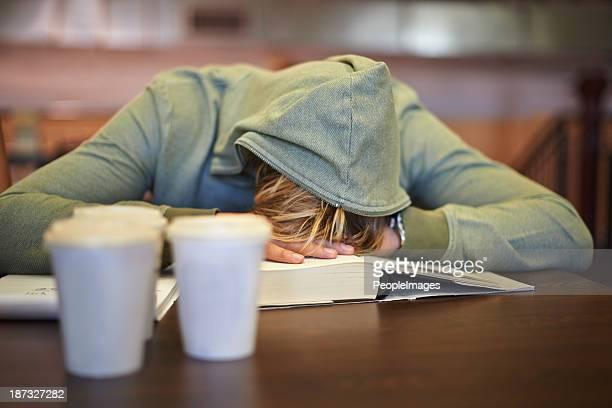 Sentir la fatigue de tisser examens