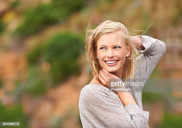 Vous vous sentez le vent dans les cheveux
