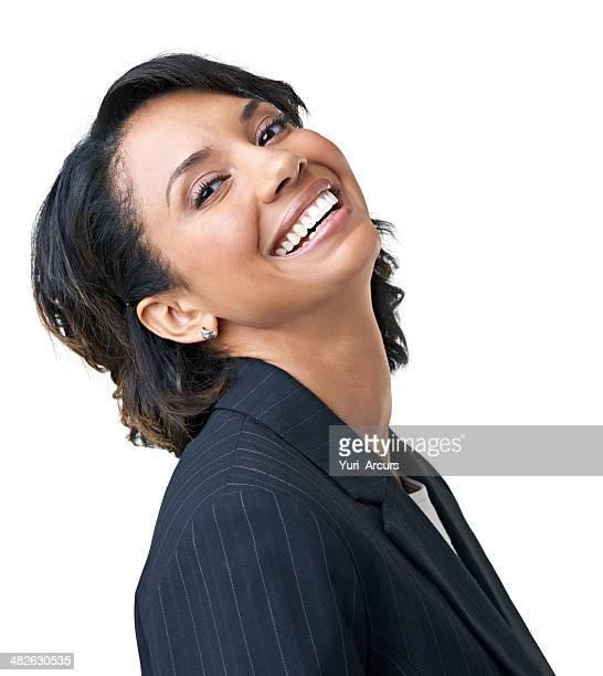 Feeling totally satisfied in her career!