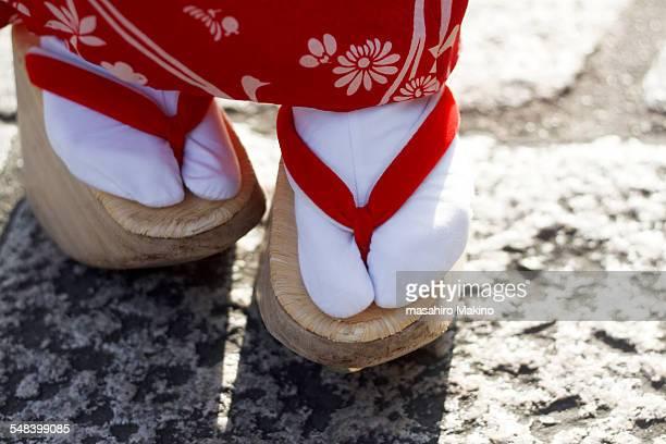 Feet of Maiko Girl