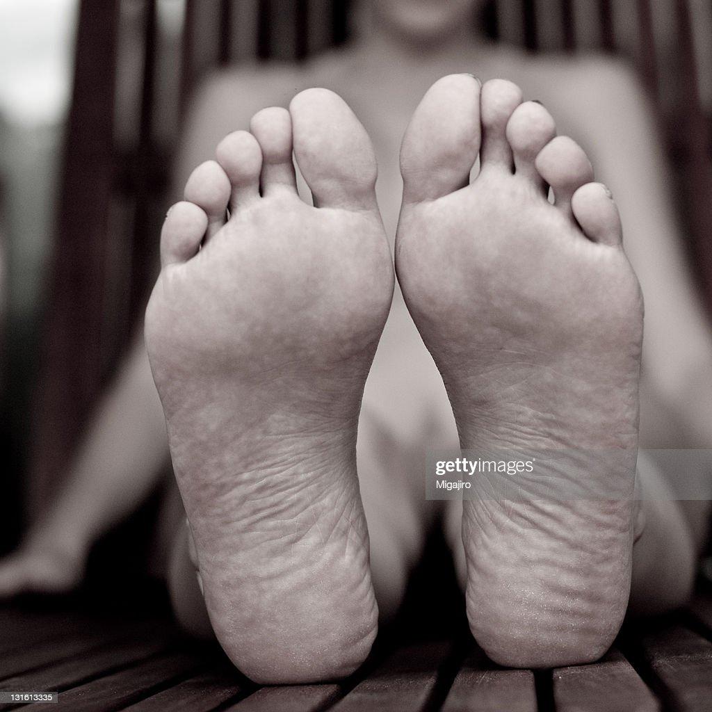 Feet : Stock Photo