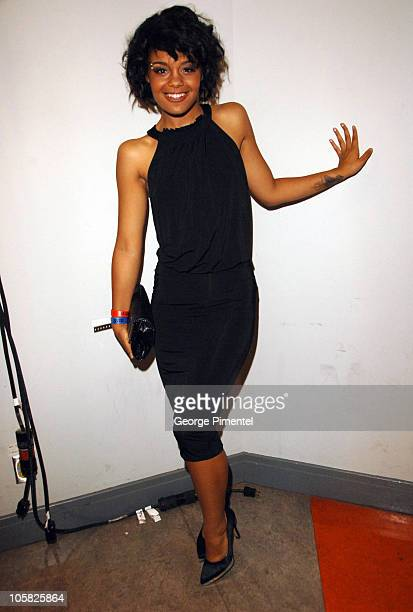 Fefe Dobson during 18th Annual MuchMusic Video Awards Backstage at Chum/City Building in Toronto Ontario Canada