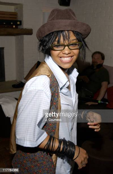 FeFe Dobson during LA Reid Birthday Celebration Inside at Cipriani's in New York City New York United States