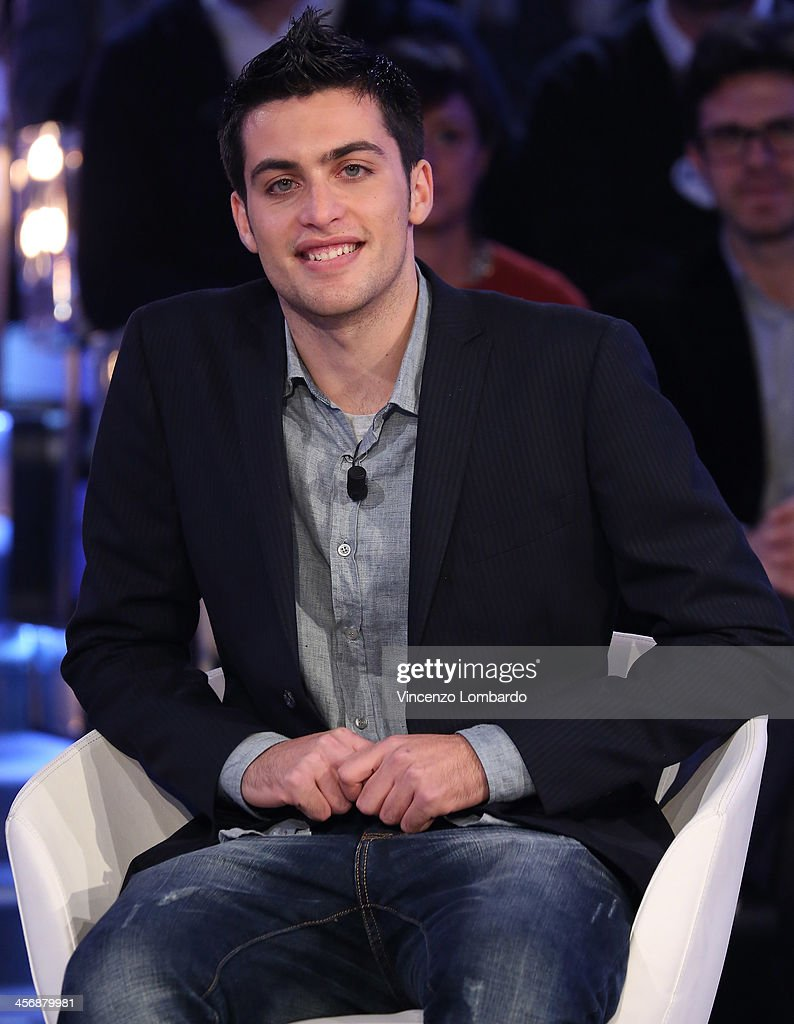 Felice Natalino appears on Italian tv show 'Quelli Che Il Calcio' on December 15, 2013 in Milan, Italy.